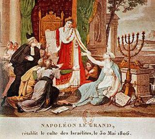 Napoléon : «Si je gouvernais le peuple juif, je rétablirais le temple de Salomon.»