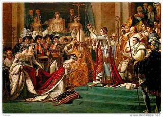Napoléon : « Je n'ai pas succédé à Louis XVI, mais à Charlemagne. »