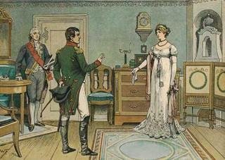 Napoléon : « Monsieur, vous n'êtes que de la merde dans un bas de soie. »