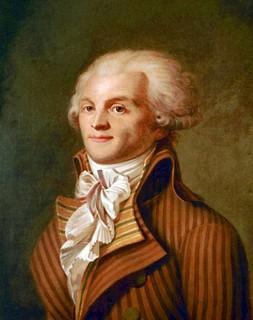 Robespierre : « La même autorité divine qui ordonne aux rois d'être justes défend aux peuples d'être esclaves. »