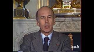 Valéry Giscard d'Estaing : « Ne nous laissons pas accabler par les rhumatismes de l'histoire. »