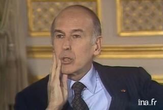 Valéry Giscard d'Estaing Il faut laisser les choses basses mourir de leur propre poison