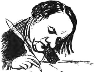 Hugo : « Voltaire alors régnait, ce singe de génie, chez l'homme en mission par le diable envoyé. »